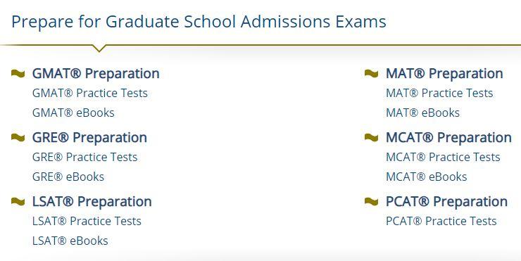 LearningExpress Graduate School Admissions Exam Preparation